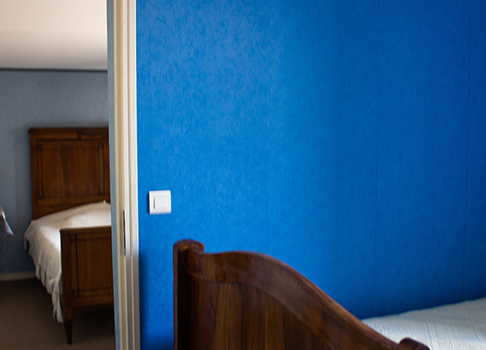 Les chambres bleues
